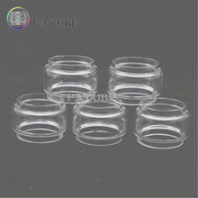 5pcs FATUBE bubble glass Cigarette Accessories for tfv8 baby/tfv12 baby prince/Moonshot/Spirals/vape pen 22/NRG SE Tank 5ml replacement glass for smok tfv12 prince tfv12 tfv8 tfv8 big baby and vape pen 22