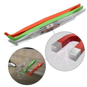 Image 4 - Foshio 炭素繊維ビニールフィルム磁気コーナーサイドラップスティックスキージマイクロスクレーパーカーラッピングツール窓色合いインストールセット