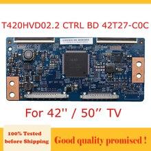 """لوحة إلكترونية T420HVD02.2 CTRL BD 42T27 C0C T Con لوحة T420hvd02.2 42t27 c0c للتلفزيون 42 """"/ 50"""" المنتج الأصلي لتلفزيون سامسونج"""