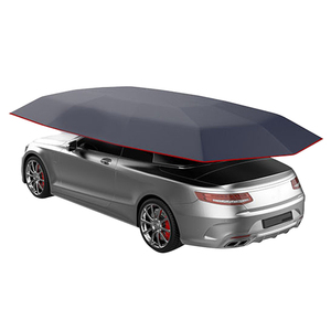 4,5x2,3 м новый уличный автомобильный тент для автомобиля зонтик солнцезащитный Чехол Ткань Оксфорд полиэфирные Чехлы без кронштейна синий