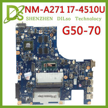 KEFU G50-70 For Lenovo G50-70 Z50-70 i7 motherboard ACLU1/ACLU2 NM-A271 Rev1.0 with graphics card Test(China)