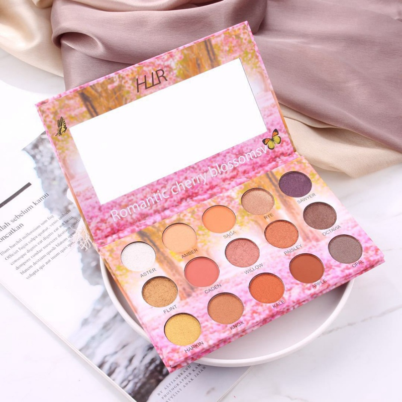 Matte Shimmer Eye Shadow Palette Anti fouling Matte Highly Colored Strong Adhesion Eye Shadow Highlight Eyes Make Up in Eye Shadow from Beauty Health