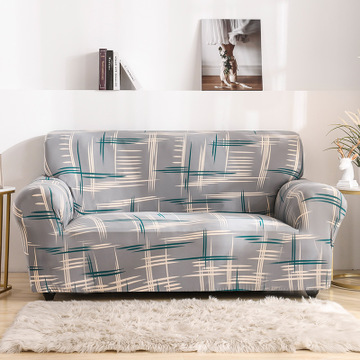 Универсальный современный чехол lafemint для дивана эластичный