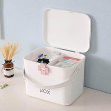 Portable Emergency Medicine Box Container Large Capacity Storage Box Multi Layer Drawer Type Waterproof First Aid Kit Organizer portable multi layer medicine box first aid kit plastic car travel pill storage box home large capacity organizer containers