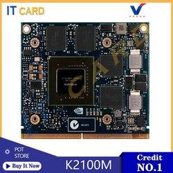 Quadro K2100M K2100 GDDR5 2GB Video Grafikkarte N15P-Q3-A1 Für Dell M6800 HP 8560W 8570W 8770W ZBook 15 17 G1 G2 100% Test OK