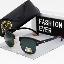 Men glasses Women Sunglasses polarized Mens fashion UV400 Oculos Vintage Brand D