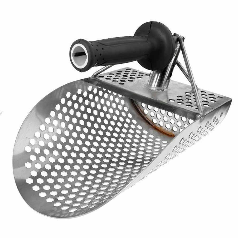 2019 ホット販売ビーチ砂スクープシャベル狩猟ツールステンレス鋼アクセサリー金属検出器 L9 #2
