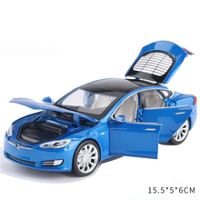 New 1:32 Tesla MODEL X  MODEL 3 MODEL S Alloy Car Model Diecasts & Toy Vehicles Toy Cars Kid Toys For Children Gifts Boy Toy