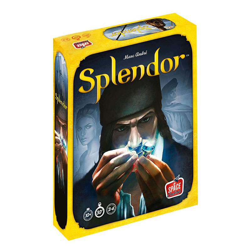 Splendor Board Game English Version Asmodee Games Rubber Playmat Parent-child Interaction Adult Cards Game