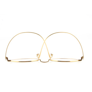 Image 5 - Saf titanyum gözlük çerçeve erkekler Vintage yuvarlak miyopi optik reçete gözlük çerçeveleri yeni kadın kadın Retro Oval gözlük