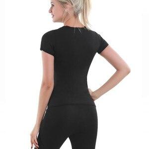 Image 3 - Nuevos conjuntos de ropa interior térmica para mujer, Ropa para Niñas, pantalones largos de neopreno, ropa interior térmica de secado rápido para el sudor