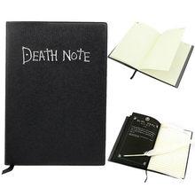 Anime death note caderno conjunto de couro jornal colecionável caderno de notas de morte escola grande tema anime escrita diário