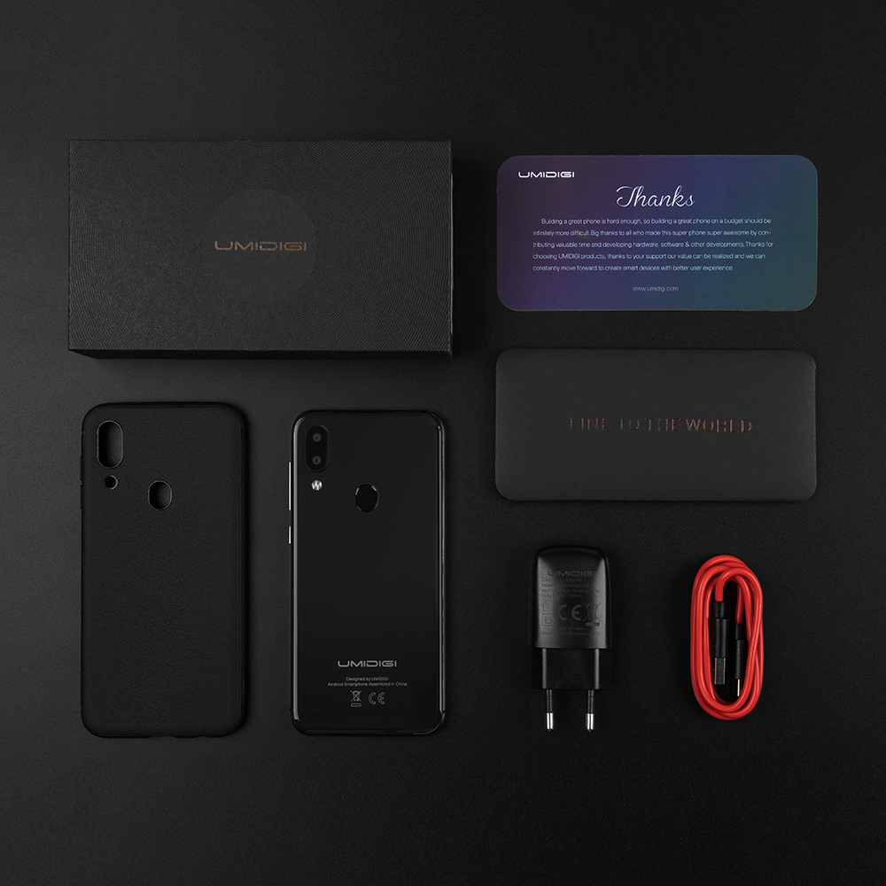 """Refurbished UMIDIGI A3 Pro Global Band Android 8.1 5.7""""19:9 Full Screen Moblie Phone 3GB+16/32GB 12MP+5MP Face Unlock Smartphone 6"""