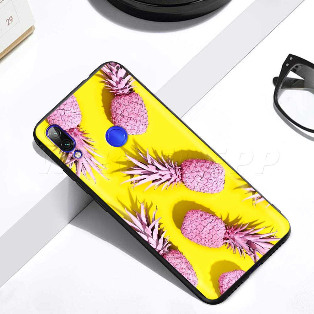 Pyszne owoce ananas obudowa do xiaomi Redmi 4A 4X5 5A 6 6A 7 7A S2 uwaga iść K20 Pro Plus Prime 8T
