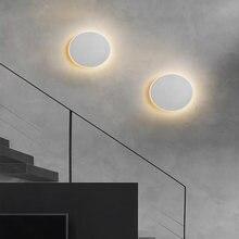 Круглый светодиодный настенный светильник с регулируемой яркостью