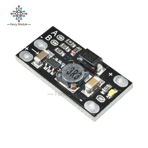 Mini DC DC Lithium Battery Boost Module Step Up Board Converter 3.7V to 12V Adjust 5V/8V/9V Premium Multifunctional DIY|Inverters & Converters|   - AliExpress