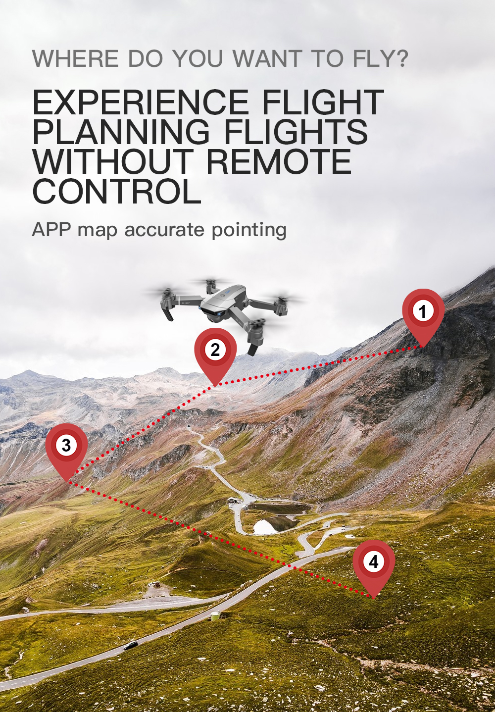 SG907 WIFI RC Quadcopter GPS Drone with 4K HD Dual Camera for Wide Angle Video Shooting 21