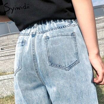 high waist jeans woman plus  5