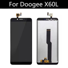 5.5 inch LCD FOR Doogee X60L Display+Touch Screen Digitizer Assembly Repair Parts  Accessory