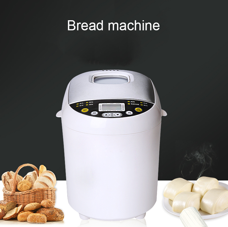 DMWD Intelligent Multifunctional Automatic Appliances Bread Baking Machine Household Cake Bread Toast Making Dough Maker EU US