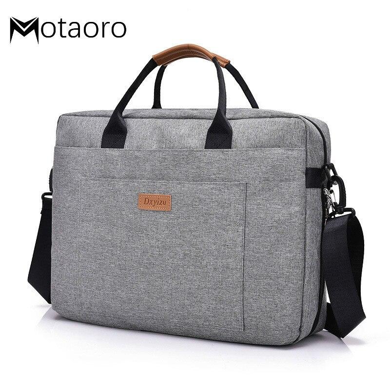Men Business Briefcases Women Office Travel Messenger Men's Computer Work Bag Business Trip File Package Man Canvas Laptop Bag