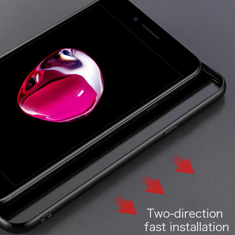 MOFi case para iPhone 7 8 além da tampa do caso para iPhone8 iPhone7 tampa traseira macio proteja coque x xr xs max caso de silicone não-slip