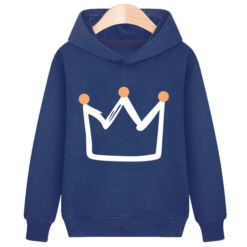 Sweater Toddler Boys Girls Sweatshirt Casual Hoodies Fashion Spring autumn Cartoon Print Baby Hooded Children Clothes New 2021 3