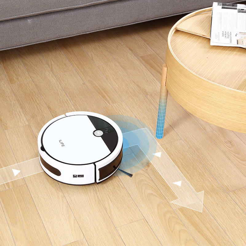 ILIFE V9e Robot Vacuum Cleaner Smart 700ML dust box WIFI App control Powerful suction 110 Minute Run Time 5