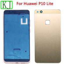New P10 Lite Front Frame LCD Holder Glass Battery B