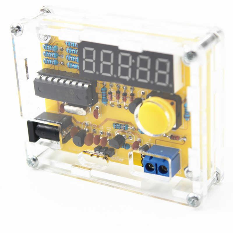 Nieuwe Collectie Diy Kits 1Hz-50Mhz Kristaloscillator Tester Frequentie Counter Tester Meter Case Beste Prijs Duurzaam diy Led Kit