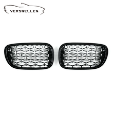 New diamond style grill For BMW  7 series G11 G12 2015+ Racing Grills Front Kidney Grille Three styles