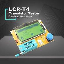 LCR-T4 LCD Digital Transistor Tester Meter Backlight Diode Triode Capacitance ESR Meter For MOSFET/JFET/PNP/NPN L/C/R 1 цена и фото