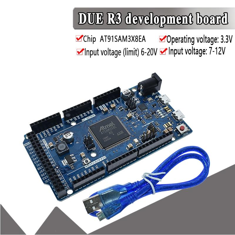 official DUE R3 Board AT91SAM3X8E SAM3X8E 32-bit ARM Cortex-M3 Control Board Module For Arduino Development board