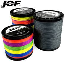 JOF 1000m 500m 300m 100m Fishing Line 12/9/8 Strands Threads Braided Wire Multifilament PE Line x12 x9 x8