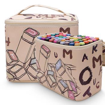 Sketch Marcatori Doppia Testa 60 80 Colori A Base Di Alcool Marcatori Professionale Rifornimenti Di Arte Per La Scuola Artista Penne Colorate Per La Vernice
