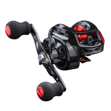 LINNWL Fishing Reel 7.2:1 High Speed Gear Ratio Baitcasting Reel 8KG Max Drag Bait Casting Reel Metal Spool Pesca