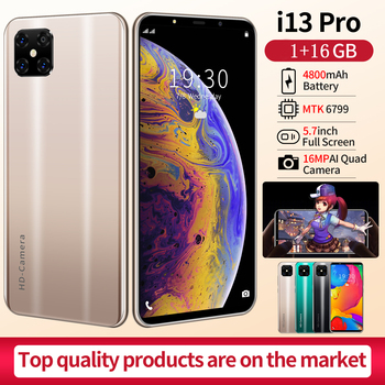 SOYES i13 Pro Android smartphones Big Battery 16MP Mobile phones Face ID unlocked GSM Blutooth wifi Cellphone Cheapest 1