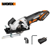 Worx 20V Electric Saw WX527 Cordless Circular Saw 85mm Multi-function Mini Saw Handhled Compact Powerful Rechargeable Power Tool