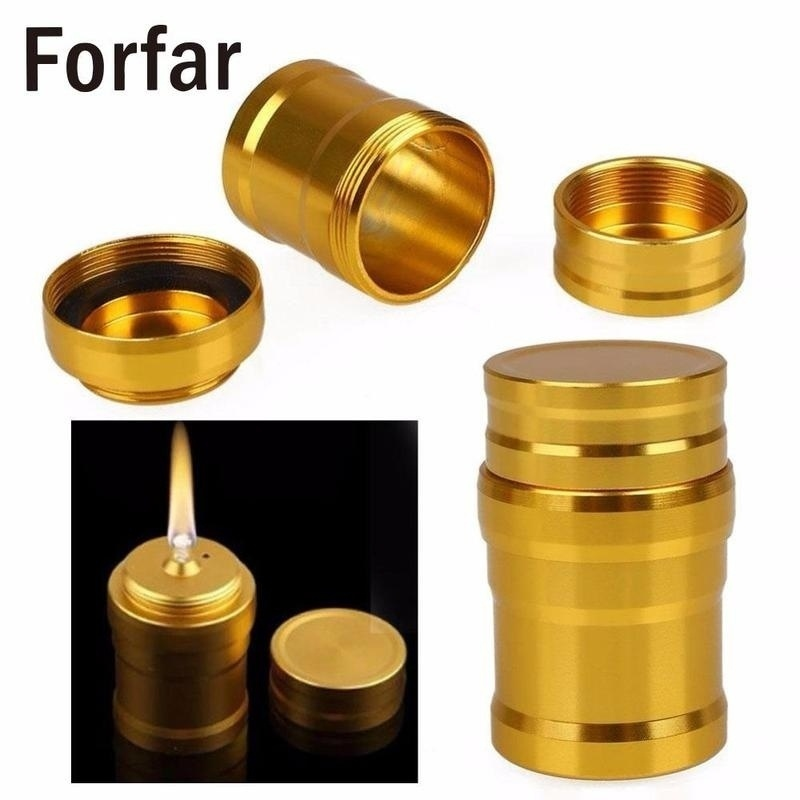 Portable Metal Mini Alcohol Lamp Lab Equipment Heating Liquid Stoves For Outdoor survival Camping Hiking Travel without alcohol Bottles, Jars & Boxes    - AliExpress