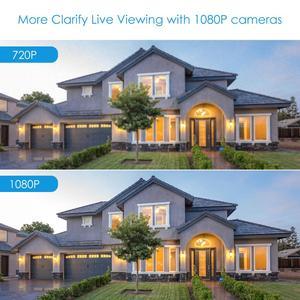 """Image 5 - ZOSI lente de vigilancia 4 en 1 CVBS AHD TVI CVI 1/2.7 """"CMOS 1080P CCTV para el hogar, resistente a la intemperie, 3,6mm, con corte IR, cámara de seguridad tipo bala"""