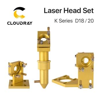 Cloudray K Series CO2 Laser Head Set D18 20 Lens for 2030 4060 K40 Laser Engraving Cutting Machine trocen co2 laser controller awc708s dsp for k40 co2 laser engraving cutting replace lihuiyu ruida leetro yueming golden