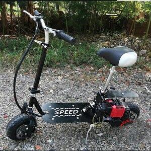 Image 5 - Faltbare Kühlen Benzin Roller Kraftstoff Booster Benzin Roller Spielen Roller Nicht Elektrische