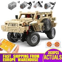 Bricks Car-Toys Building-Blocks Motor-Function High-Tech Christmas-Gift MOC-4731 23007-App
