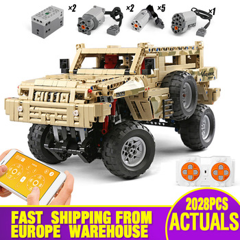 23007 Technic Car Toys The MOC-4731 Marauder Motor Function Car Model Compatible With Lepinly Building Blocks Kid Christmas Gift