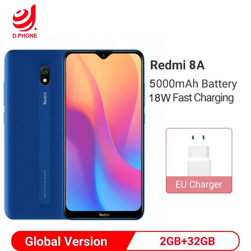 Фото. Глобальная версия Xiaomi Redmi 8A 8 A 2GB 32GB 6,22 дюйм Snapdargon 439 Восьмиядерный мобильный