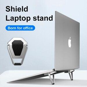 Image 1 - ขาตั้งแล็ปท็อปโลหะน้ำหนักเบาสนับสนุนโน้ตบุ๊คแล็ปท็อปผู้ถือ Cooling Bracket สำหรับ MacBook Pro Air DELL HP