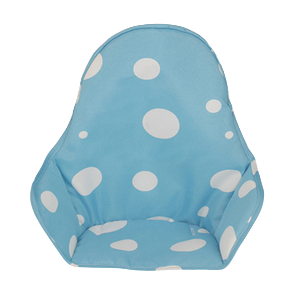 Feeding Kids High Chair Cushion Portable Outdoor Stroller Waterproof Oxford Booster Mats Seat Cover For Baby Polka Dot Foldable