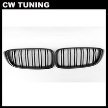 Carbon Fiber F32 Kidney Grille F33 F36 F80 M3 F82 M3 F83 M4 ABS Front Bumper Racing Grill for BMW 4 Series 428i 440i 435i 2014+