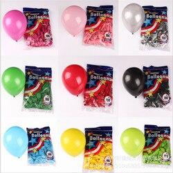 50 pçs 5 Polegada redondo pequeno balão aniversário das crianças, decoração da festa de aniversário, dia dos namorados do casamento, chá de fraldas