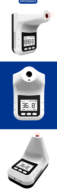 Hfb7122715a6e47ccad8497bf3ee62794u - ที่วัดไข้ K3 พร้อมขาตั้ง ติดกำแพง ผนัง เสา ร้านค้า สำนักงาน เครื่องวัดอุณหภูมิ อินฟราเรด มีแอพฯ LCD Digital Smart Termometor